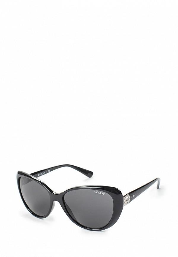 Очки солнцезащитные Vogue® Eyewear Vogue® Eyewear VO007DWAUPC0 vogue vogel легкий коробка стример стильный черный кадр очки серия оптических оправ vo2950d w827 53мм