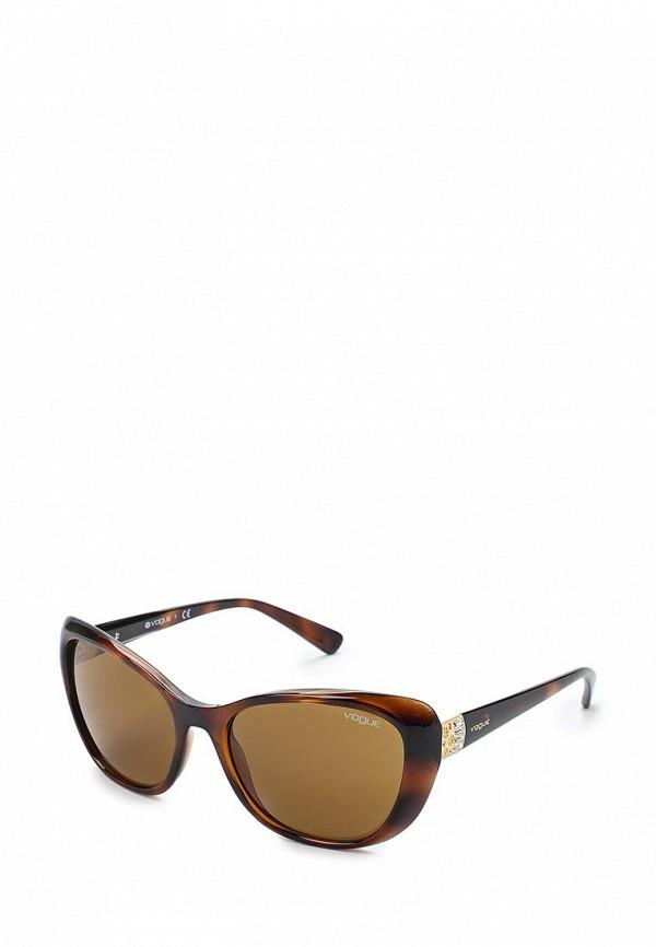 Очки солнцезащитные Vogue® Eyewear Vogue® Eyewear VO007DWAUPC1 vogue vogel очки черного кадра серебряного покрытия линза мода полной оправе очки vo5067sd w44s6g 56мм