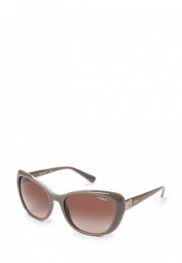 Очки солнцезащитные Vogue® Eyewear Vogue® Eyewear VO007DWAUPC2 vogue vogel очки черного кадра серебряного покрытия линза мода полной оправе очки vo5067sd w44s6g 56мм