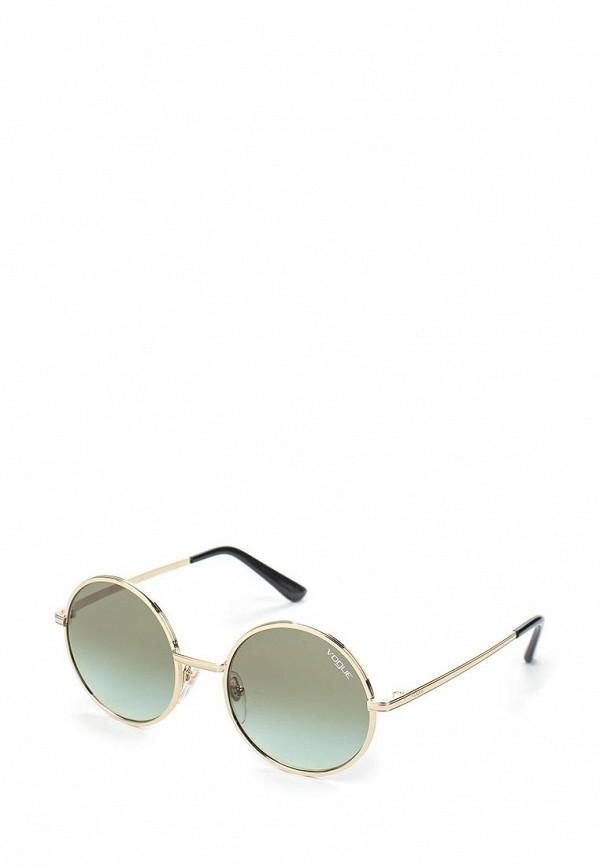 Купить Очки солнцезащитные Vogue® Eyewear, VO4085S 848/8E, VO007DWAUPC5, золотой, Весна-лето 2018