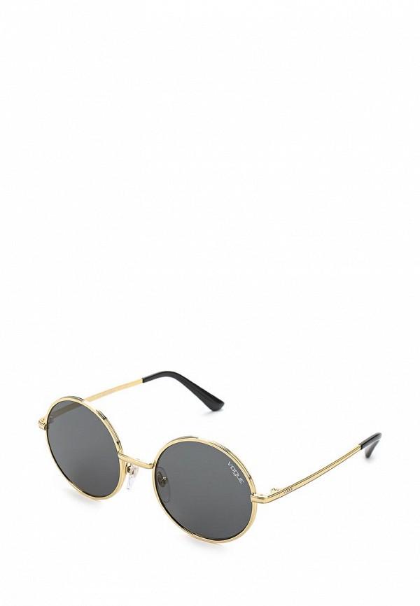 Купить Очки солнцезащитные Vogue® Eyewear, VO4085S 280/87, VO007DWAUPC6, золотой, Весна-лето 2018