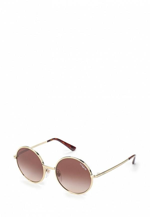 Очки солнцезащитные Vogue® Eyewear Vogue® Eyewear VO007DWAUPC7 vogue vogel очки черного кадра серебряного покрытия линза мода полной оправе очки vo5067sd w44s6g 56мм