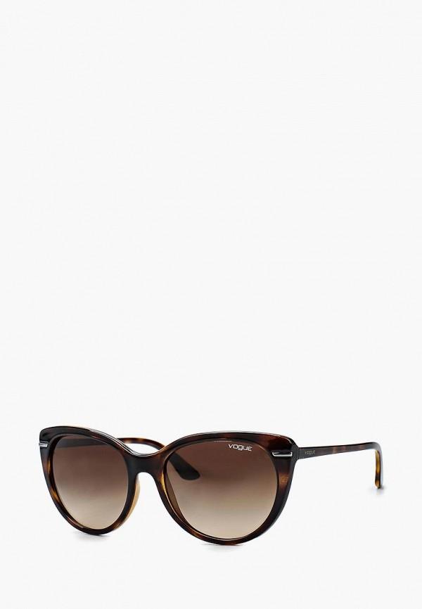 Очки солнцезащитные Vogue® Eyewear Vogue® Eyewear VO007DWEFV17 vogue vogel очки черного кадра серебряного покрытия линза мода полной оправе очки vo5067sd w44s6g 56мм