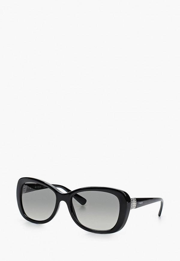 Купить Очки солнцезащитные Vogue® Eyewear, 0VO2943SB W44/11, VO007DWETO71, черный, Весна-лето 2018