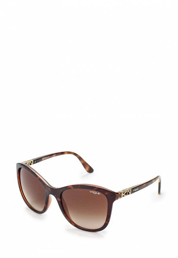Очки солнцезащитные Vogue® Eyewear Vogue® Eyewear VO007DWHXG99 w205 carbon fiber car rear body kit splitter trim for mercedes benz w205 4door 2015up