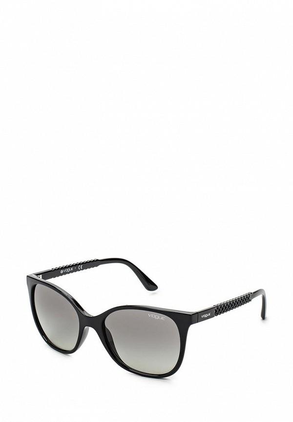 Очки солнцезащитные Vogue® Eyewear Vogue® Eyewear VO007DWHXH03 vogue vogel очки черного кадра серебряного покрытия линза мода полной оправе очки vo5067sd w44s6g 56мм