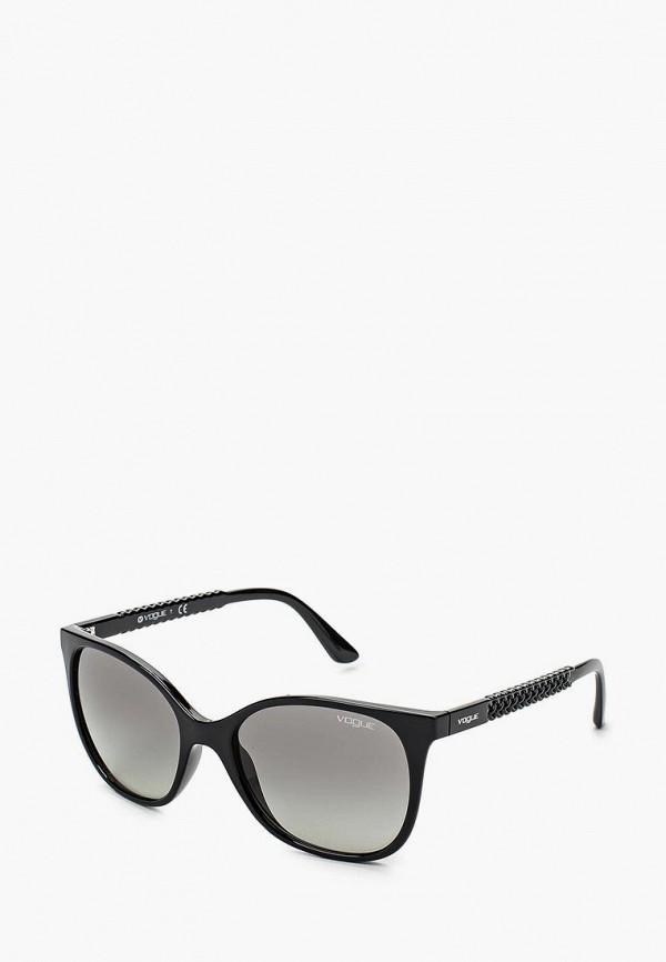 Купить Очки солнцезащитные Vogue® Eyewear, VO5032S W44/11, VO007DWHXH03, черный, Весна-лето 2018
