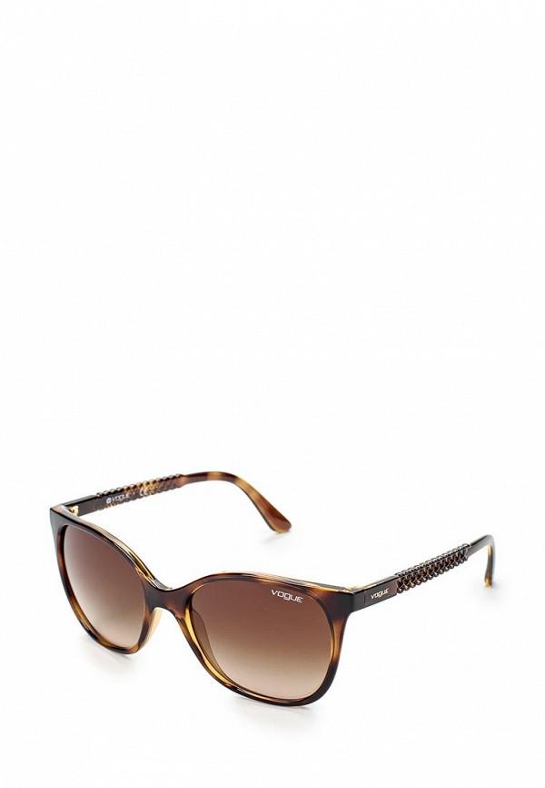 Очки солнцезащитные Vogue® Eyewear Vogue® Eyewear VO007DWHXH04 vogue vogel очки черного кадра серебряного покрытия линза мода полной оправе очки vo5067sd w44s6g 56мм