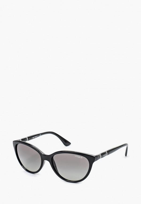 Купить Очки солнцезащитные Vogue® Eyewear, VO2894SB W44/11, VO007DWIUR31, черный, Весна-лето 2018