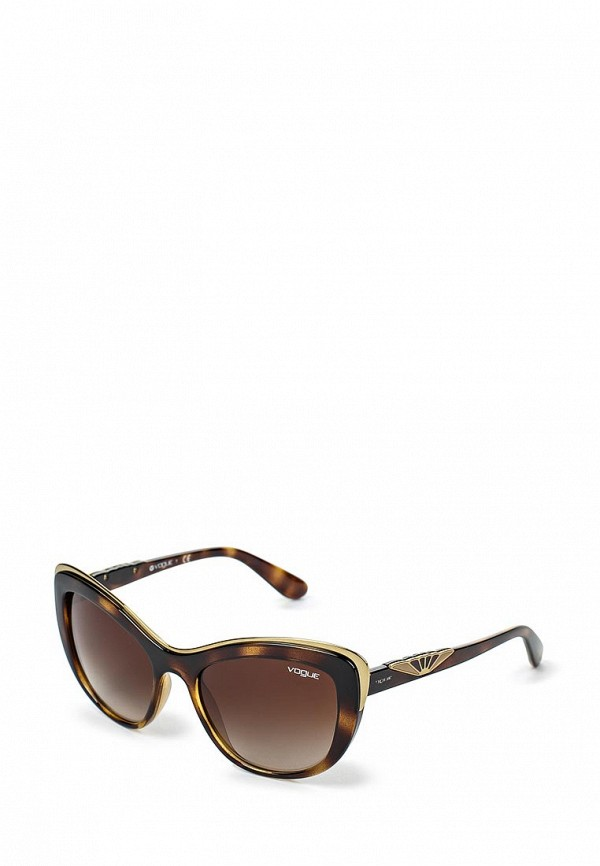Очки солнцезащитные Vogue® Eyewear Vogue® Eyewear VO007DWJJZ32 vogue vogel очки черного кадра серебряного покрытия линза мода полной оправе очки vo5067sd w44s6g 56мм