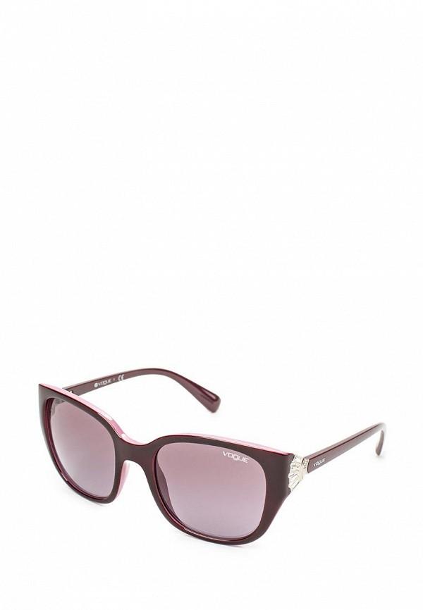 Очки солнцезащитные Vogue® Eyewear Vogue® Eyewear VO007DWJJZ33 vogue vogel очки черного кадра серебряного покрытия линза мода полной оправе очки vo5067sd w44s6g 56мм