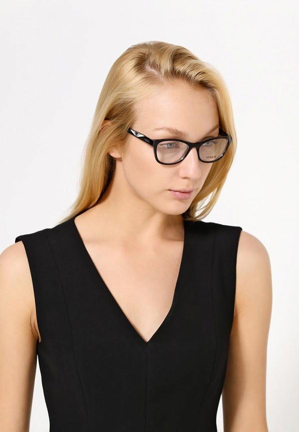 Фото 3 - Оправа Vogue® Eyewear черного цвета