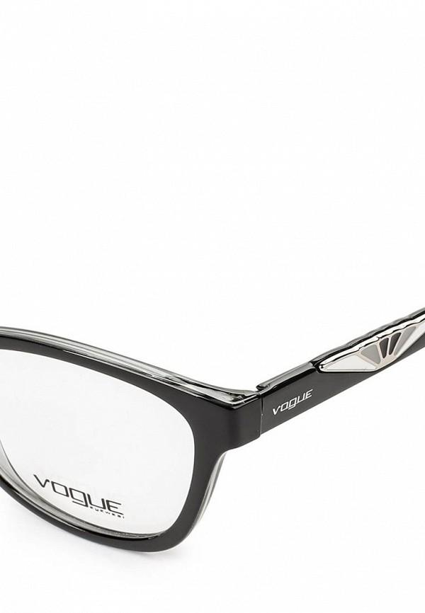 Фото 4 - Оправа Vogue® Eyewear черного цвета