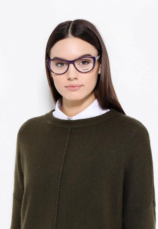 Фото 2 - Оправа Vogue® Eyewear фиолетового цвета