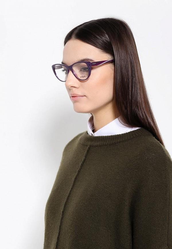 Фото 3 - Оправа Vogue® Eyewear фиолетового цвета