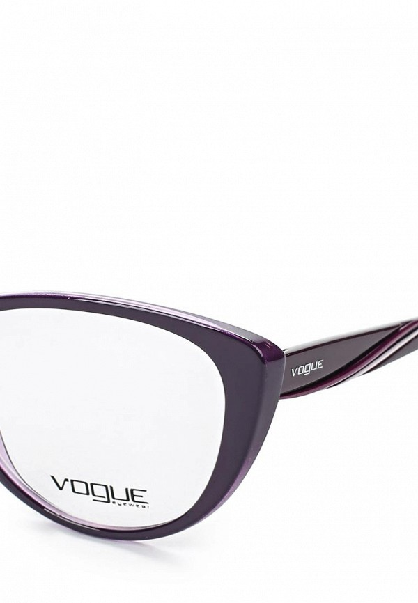 Фото 4 - Оправа Vogue® Eyewear фиолетового цвета