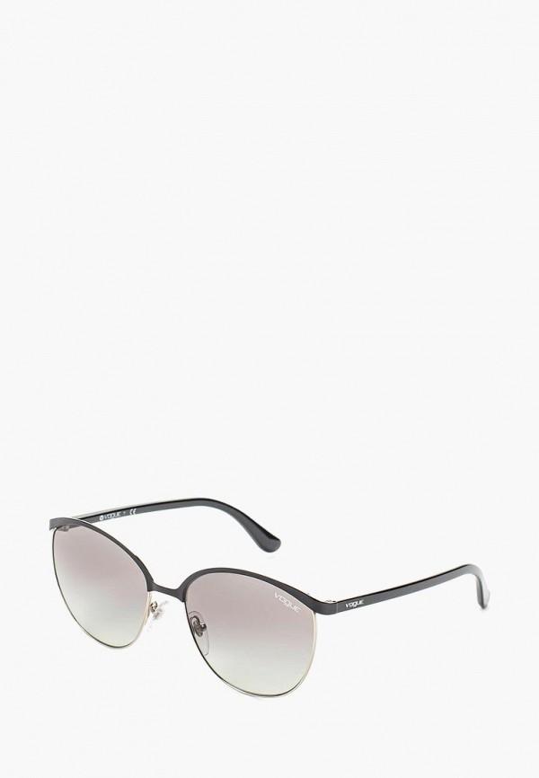 Очки солнцезащитные Vogue® Eyewear Vogue® Eyewear VO007DWOZH28 vogue vogel очки черного кадра серебряного покрытия линза мода полной оправе очки vo5067sd w44s6g 56мм