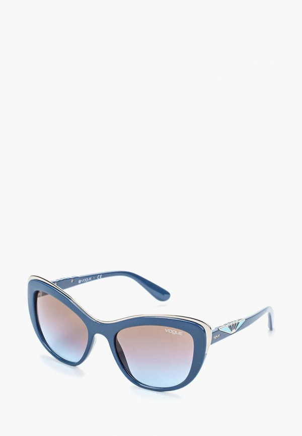 Очки солнцезащитные Vogue® Eyewear Vogue® Eyewear VO007DWOZH35 очки солнцезащитные vogue® eyewear vogue® eyewear vo007dwtzd74