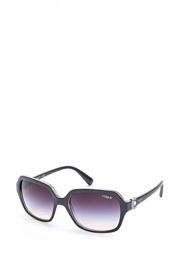Очки солнцезащитные Vogue® Eyewear Vogue® Eyewear VO007DWOZH38 baon весна лето 2017 vogue