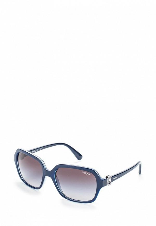 Очки солнцезащитные Vogue® Eyewear Vogue® Eyewear VO007DWOZH39 vogue vogel очки черного кадра серебряного покрытия линза мода полной оправе очки vo5067sd w44s6g 56мм