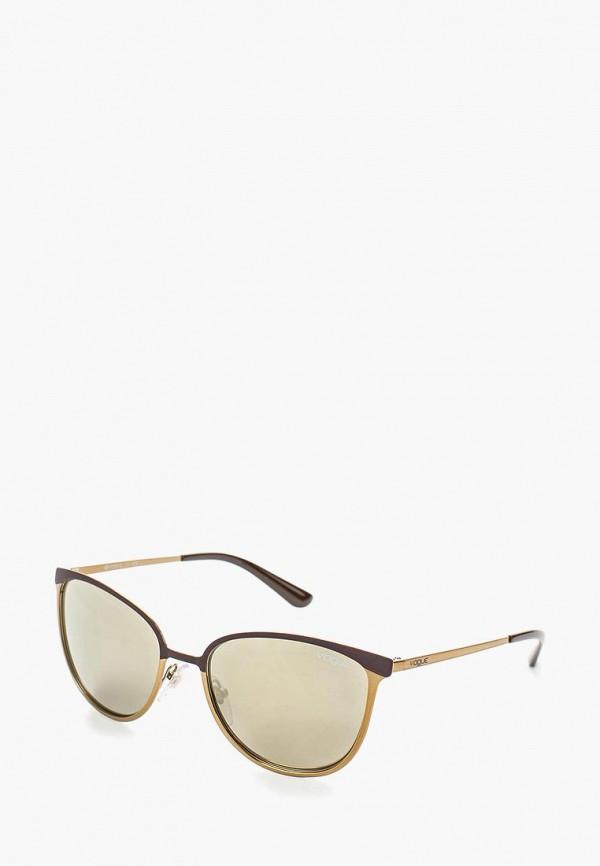 Очки солнцезащитные Vogue® Eyewear Vogue® Eyewear VO007DWOZH40 vogue vogel очки черного кадра серебряного покрытия линза мода полной оправе очки vo5067sd w44s6g 56мм