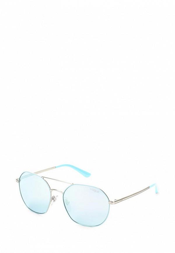 Очки солнцезащитные Vogue® Eyewear Vogue® Eyewear VO007DWOZH57 baon весна лето 2017 vogue