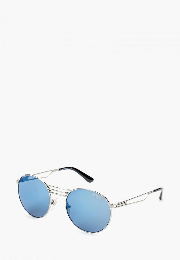 Очки солнцезащитные Vogue® Eyewear Vogue® Eyewear VO007DWOZH62 vogue vogel очки черного кадра серебряного покрытия линза мода полной оправе очки vo5067sd w44s6g 56мм