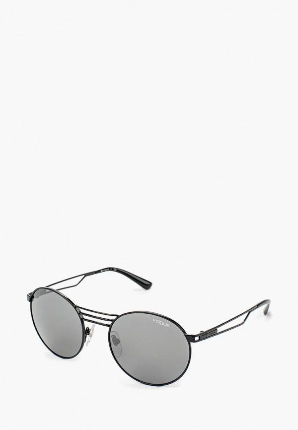 Очки солнцезащитные Vogue® Eyewear Vogue® Eyewear VO007DWOZH63 vogue vogel очки черного кадра серебряного покрытия линза мода полной оправе очки vo5067sd w44s6g 56мм