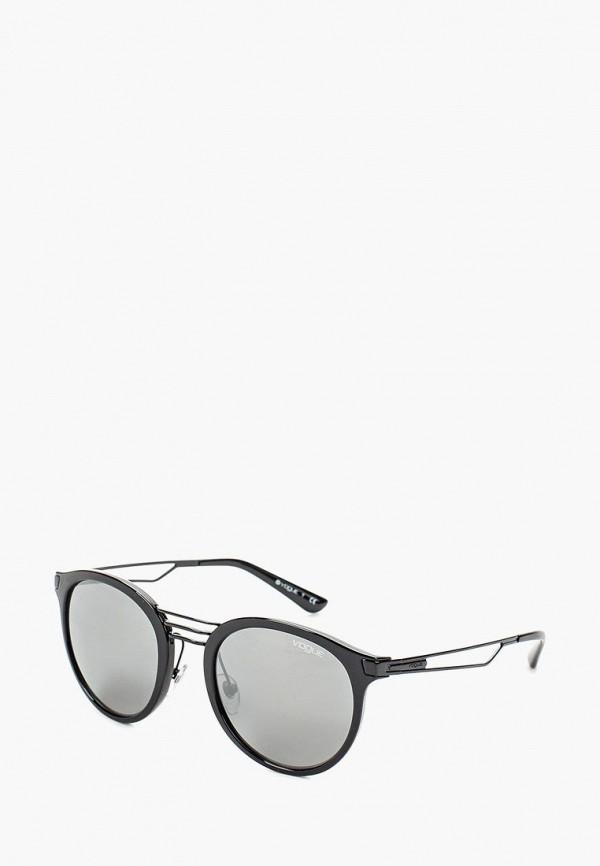 Очки солнцезащитные Vogue® Eyewear Vogue® Eyewear VO007DWOZH67 vogue vogel очки черного кадра серебряного покрытия линза мода полной оправе очки vo5067sd w44s6g 56мм