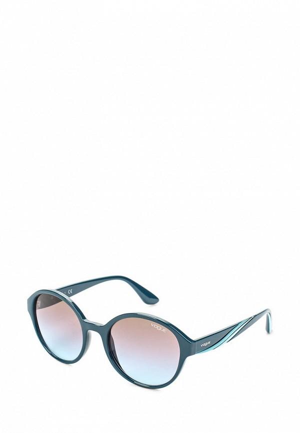 Очки солнцезащитные Vogue® Eyewear Vogue® Eyewear VO007DWOZH70 vogue vogel стильный и элегантный синий кадр очки кадр полный кадр оптических оправ vovo3999 998s 52мм