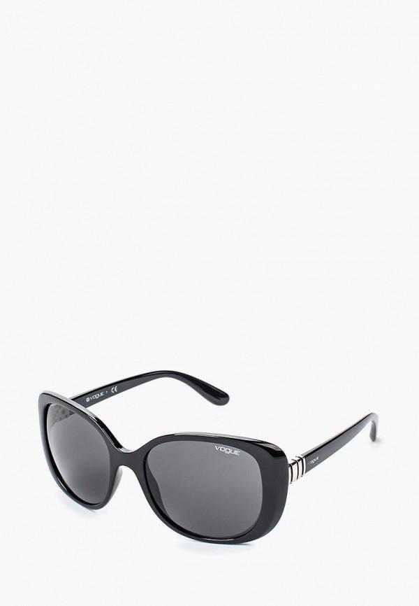 Купить Очки солнцезащитные Vogue® Eyewear, VO5155S W44/87, VO007DWQGU48, черный, Весна-лето 2018