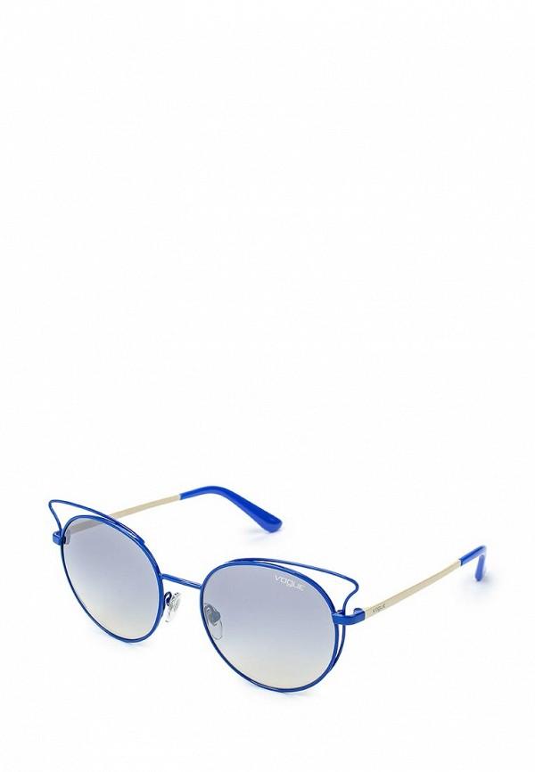 Очки солнцезащитные Vogue® Eyewear Vogue® Eyewear VO007DWQGU51 vogue vogel очки черного кадра серебряного покрытия линза мода полной оправе очки vo5067sd w44s6g 56мм