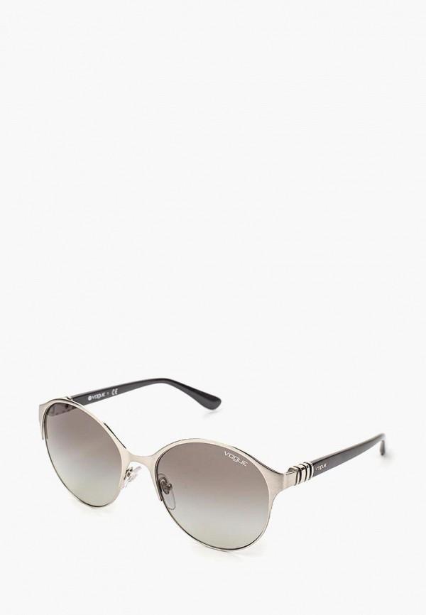 Очки солнцезащитные Vogue® Eyewear Vogue® Eyewear VO007DWQGU53 vogue vogel очки черного кадра серебряного покрытия линза мода полной оправе очки vo5067sd w44s6g 56мм