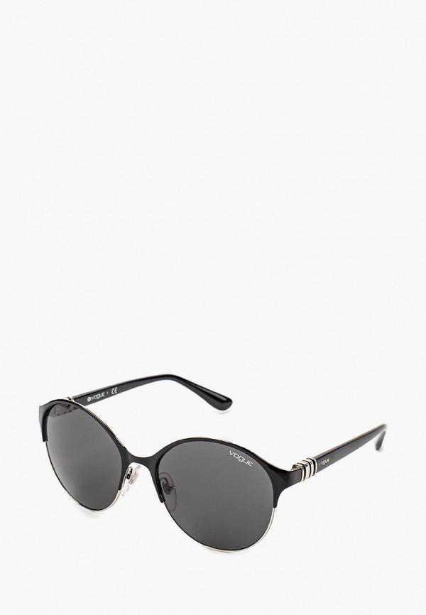 Купить Очки солнцезащитные Vogue® Eyewear, VO4049S 352/87, VO007DWQGU54, черный, Весна-лето 2018