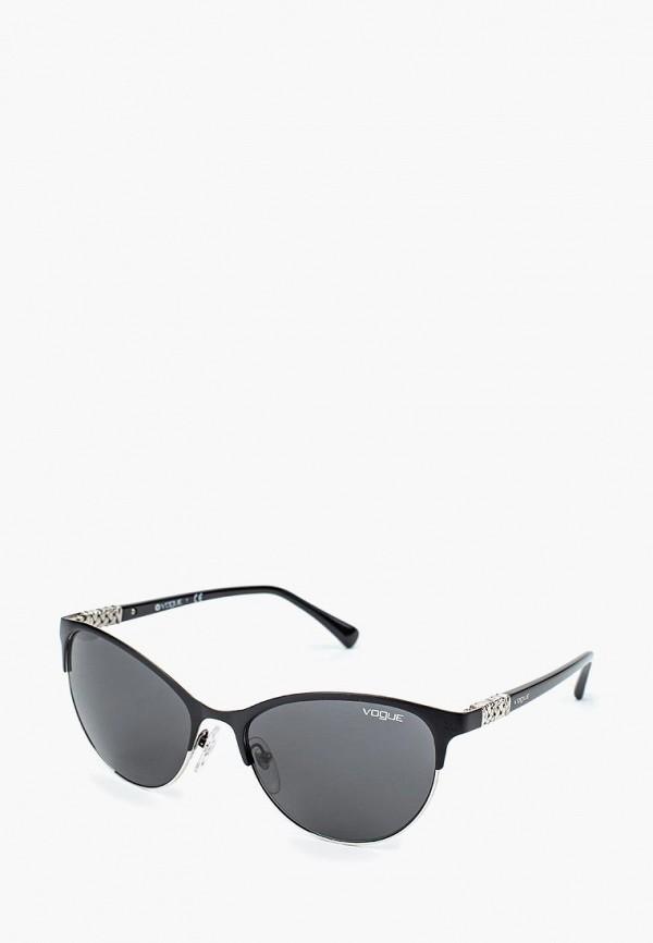 Купить Очки солнцезащитные Vogue® Eyewear, VO4058SB 352/87, VO007DWQGU56, черный, Весна-лето 2018