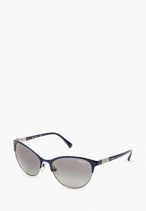Очки солнцезащитные Vogue® Eyewear Vogue® Eyewear VO007DWQGU57 vogue vogel очки черного кадра серебряного покрытия линза мода полной оправе очки vo5067sd w44s6g 56мм