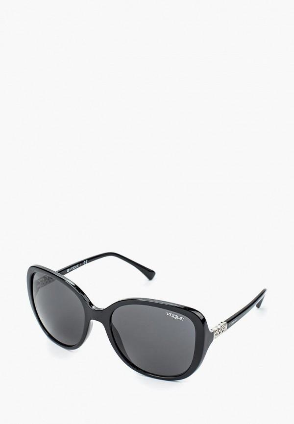 Купить Очки солнцезащитные Vogue® Eyewear, VO5154SB W44/87, VO007DWQGU61, черный, Весна-лето 2018