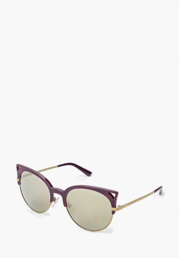 Очки солнцезащитные Vogue® Eyewear Vogue® Eyewear VO007DWQGU71 vogue vogel очки черного кадра серебряного покрытия линза мода полной оправе очки vo5067sd w44s6g 56мм