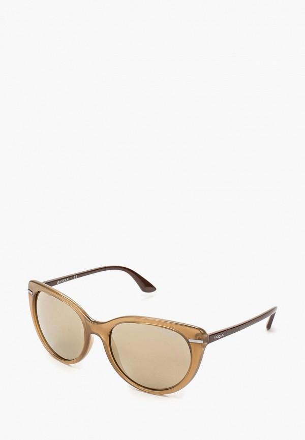 Очки солнцезащитные Vogue® Eyewear Vogue® Eyewear VO007DWQGU74 vogue vogel очки черного кадра серебряного покрытия линза мода полной оправе очки vo5067sd w44s6g 56мм