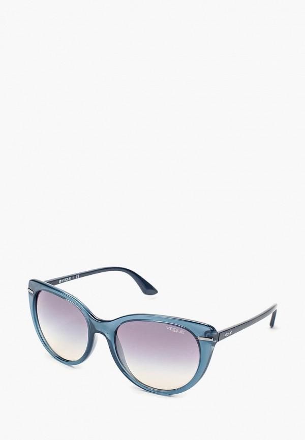 Очки солнцезащитные Vogue® Eyewear Vogue® Eyewear VO007DWQGU75 vogue vogel синий кадр серый градиент объектив солнцезащитные очки моды полные оправе очки солнцезащитные очки vo2993sf 235611 57мм