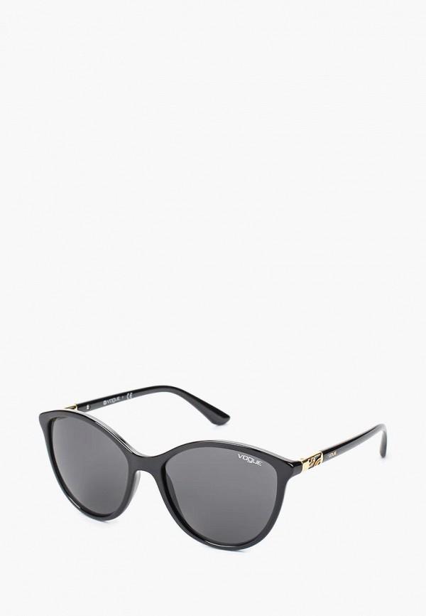 Купить Очки солнцезащитные Vogue® Eyewear, VO5165S W44/87, VO007DWTZD54, черный, Весна-лето 2018
