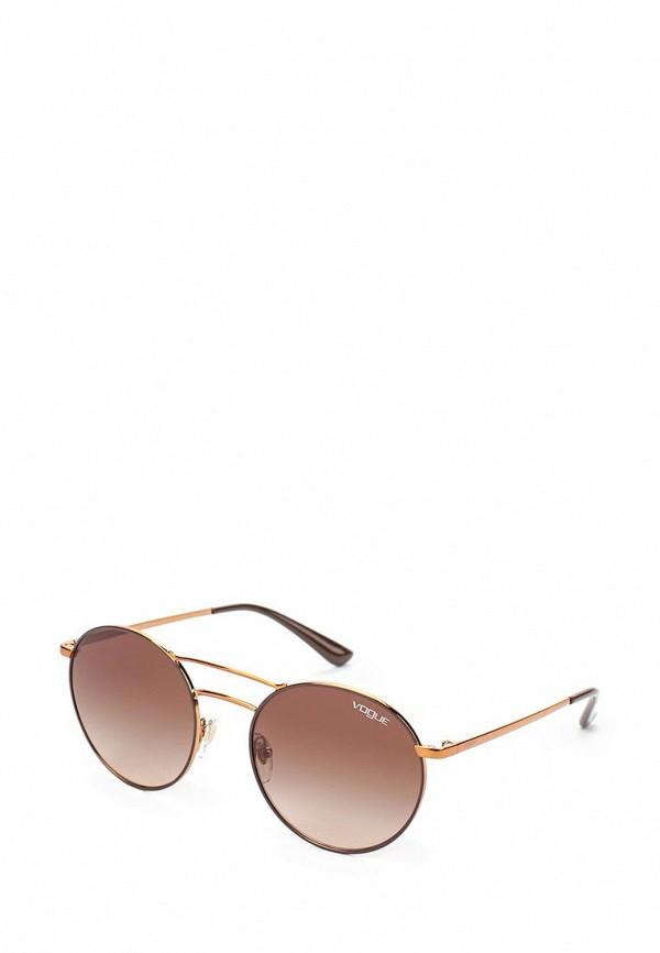 Очки солнцезащитные Vogue® Eyewear Vogue® Eyewear VO007DWTZD58 vogue vogel очки черного кадра серебряного покрытия линза мода полной оправе очки vo5067sd w44s6g 56мм