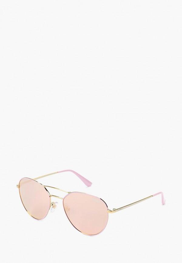 Купить Очки солнцезащитные Vogue® Eyewear, VO4060S 50245R, VO007DWTZD60, розовый, Весна-лето 2018