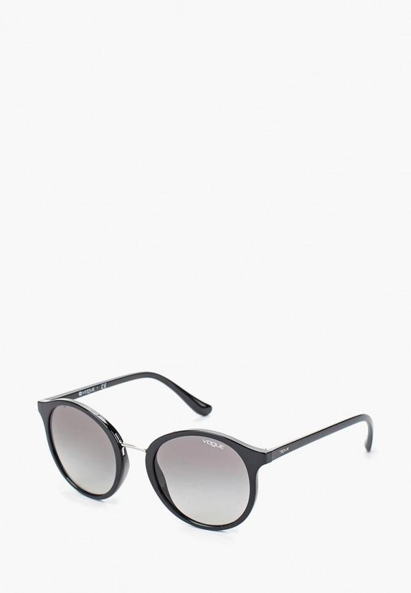Купить Очки солнцезащитные Vogue® Eyewear, VO5166S W44/11, VO007DWTZD62, черный, Весна-лето 2018
