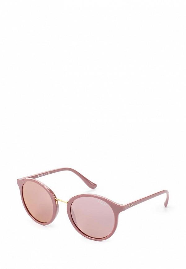 Очки солнцезащитные Vogue® Eyewear Vogue® Eyewear VO007DWTZD64 baon весна лето 2017 vogue