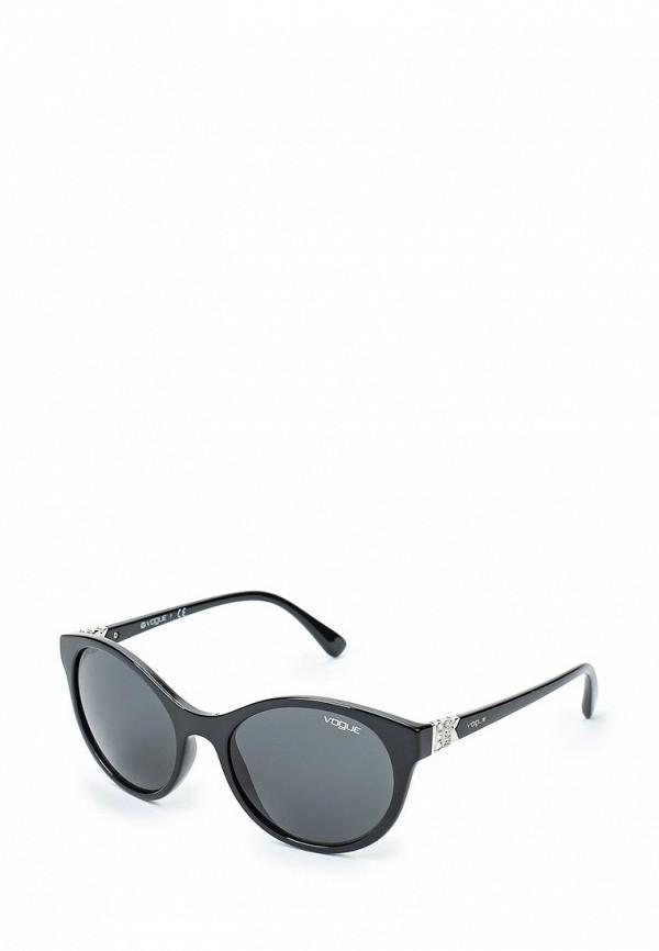 Очки солнцезащитные Vogue® Eyewear Vogue® Eyewear VO007DWTZD67 vogue vogel очки черного кадра серебряного покрытия линза мода полной оправе очки vo5067sd w44s6g 56мм