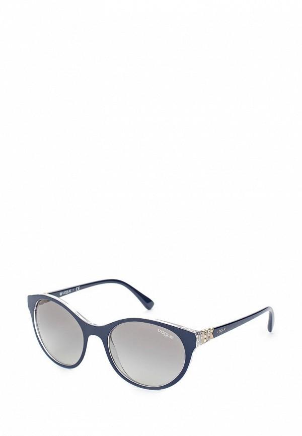 Очки солнцезащитные Vogue® Eyewear Vogue® Eyewear VO007DWTZD68 vogue vogel очки черного кадра серебряного покрытия линза мода полной оправе очки vo5067sd w44s6g 56мм