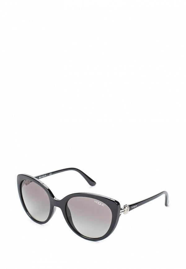 Очки солнцезащитные Vogue® Eyewear Vogue® Eyewear VO007DWTZD74 vogue vogel очки черного кадра серебряного покрытия линза мода полной оправе очки vo5067sd w44s6g 56мм