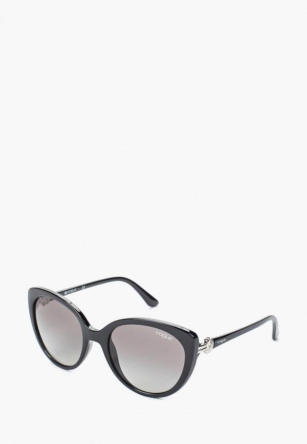 Купить Очки солнцезащитные Vogue® Eyewear, VO5060S W44/11, VO007DWTZD74, черный, Весна-лето 2018