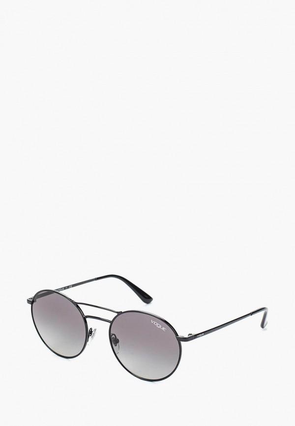 Очки солнцезащитные Vogue® Eyewear Vogue® Eyewear VO007DWTZD75 vogue vogel очки черного кадра серебряного покрытия линза мода полной оправе очки vo5067sd w44s6g 56мм